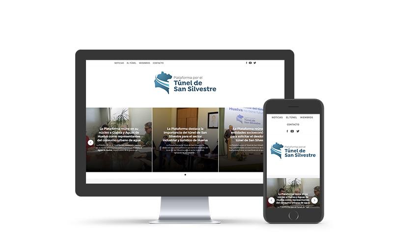 La Plataforma por el Túnel de San Silvestre estrena página web