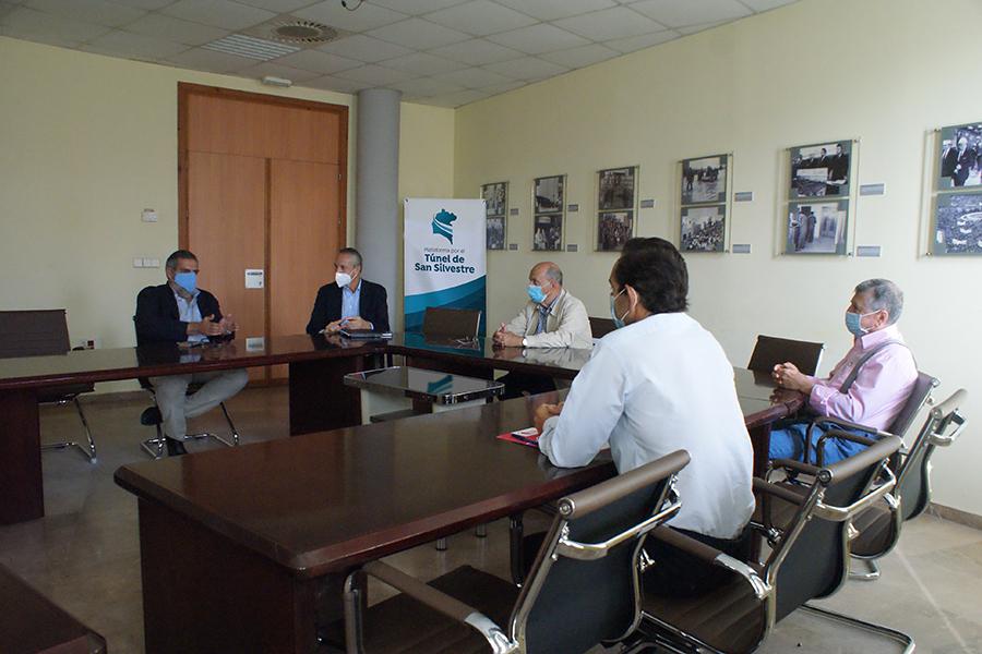 La Plataforma solicita al Consejo Económico y Social de Huelva que valore el impacto del túnel de San Silvestre en la provincia