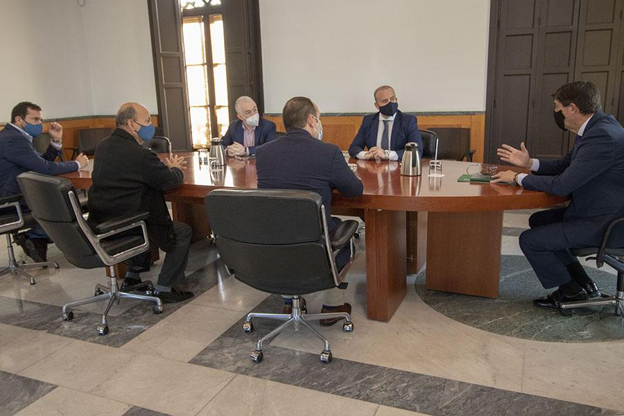 La Plataforma traslada a la Junta de Andalucía la importancia de apoyar el desdoble del túnel en todas las administraciones