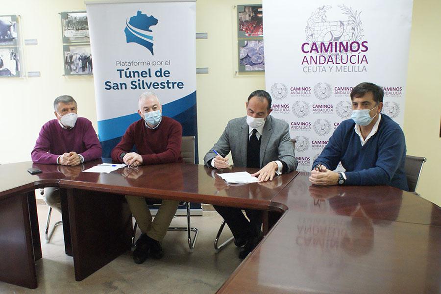 La Plataforma por el Túnel de San Silvestre suma en su estructura al Colegio de Ingenieros de Caminos, Canales y Puertos